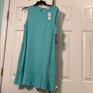 NWT Turquoise sleeveless dress. XL
